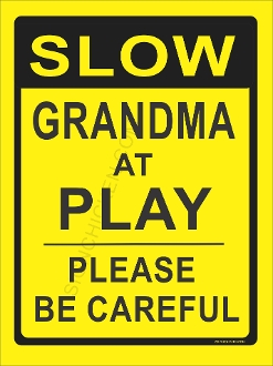 Slow Grandma At Play