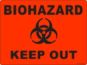 Biohazard - Keep Out