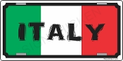 Italy License Plate
