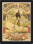Vintage Advertisement Replica - Columbia Bicycle