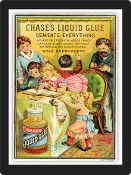 Vintage Advertisement Replica - Glue Ad