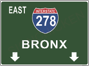 Interstate 278 Bronx