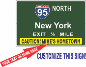 Interstate 95 North New York - ANY NAME'S HOMETOWN