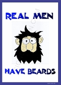 Real Man Have beards Full Face