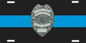 Thin Blue Line W/ Shield
