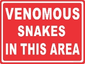 venomous Snakes In This Area