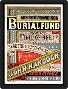 Replica Vintage Advertisement Burial Fund