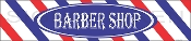 Horizontal Barber Shop Sign