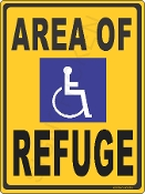 Area of Refuge For Handicapped