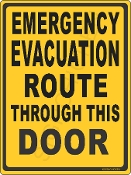 Emergency Evacuation Route
