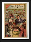 Vintage Advertisement Replica - Grocery