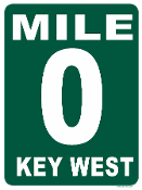 Key West Mile Marker