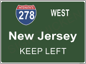Interstate 278  New Jersey