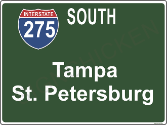 Interstate 275 South  Tampa / St. Pete