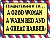 Happiness Is...A Great Barber