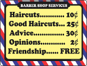 Barber Shop Services
