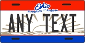 Ohio - State License Plate -  CUSTOMIZE THIS PLATE!