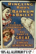 Circus, Ringling Brothers -  Vintage Advertisement Replica