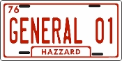 General 01 - Auto or Truck License Plate