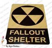FALL OUT SHELTER SIGN