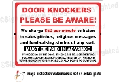 Door Knockers Be Aware!