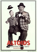 Altoids Ventriloquist -  Vintage Advertisement Replica