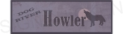 HOWLER sign as seen on Corner Gas TV show