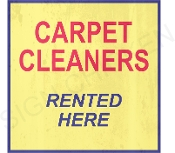 Carpet Cleaners Rented Here